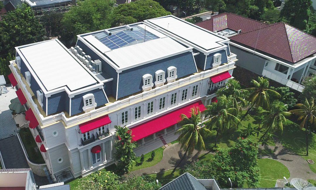 MENTENG ROOFTOP SOLAR POWER SYSTEM (2016)
