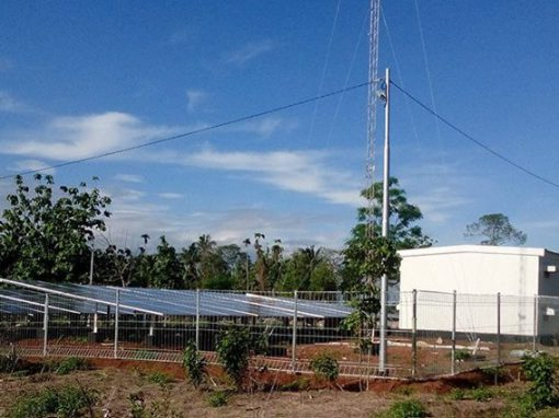 OFF-GRID SOLAR POWER PLANTS IN LAMPUNG (2015)