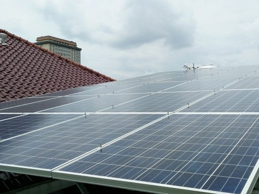 ROOFTOP ON-GRID SOLAR SYSTEM COMES TO BOGOR (2015)