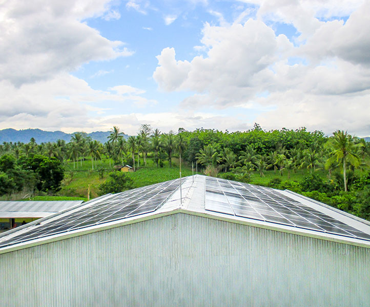 ROOFTOP ONGRID SOLAR POWER SOLUTION FOR PLN BIOMASS POWER PLANT (2014)