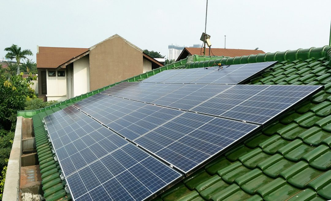 ROOFTOP ON-GRID SOLAR SYSTEM COMES TO PONDOK INDAH (2015)