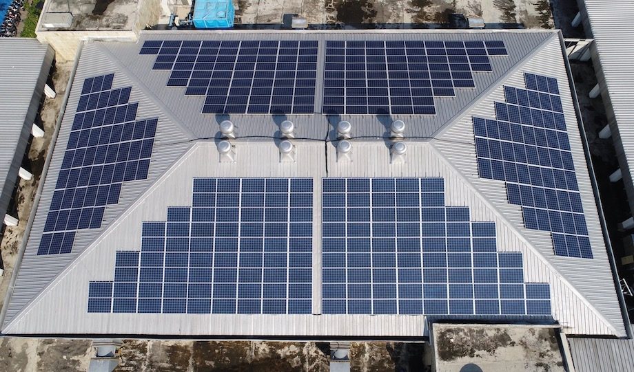 BANK INDONESIA ROOFTOP SOLAR POWER SYSTEM (2015)