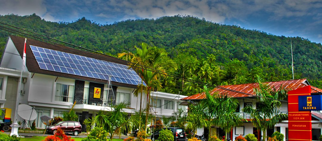ROOFTOP ONGRID SOLAR POWER SOLUTION FOR PLN TAHUNA OFFICE (2012)