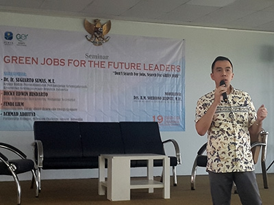 GREEN JOBS FOR THE FUTURE LEADERS