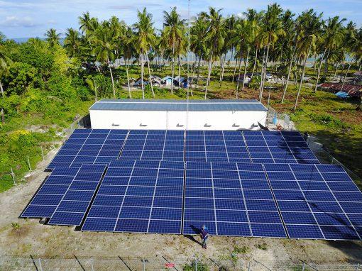 RAJA AMPAT SOLAR POWER PLANT (2017)